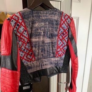 BCBGMaxAzria Jackets & Coats - ❌❌❌SOLD❌❌❌Runway BCBG MaxAzaria leather Jacket